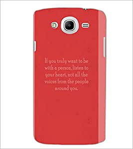 PrintDhaba Quote D-4974 Back Case Cover for SAMSUNG GALAXY MEGA 5.8 (Multi-Coloured)