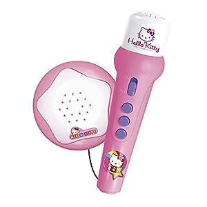 REIG 662212 - Hello Kitty Micrófono con Luces/Sonidos