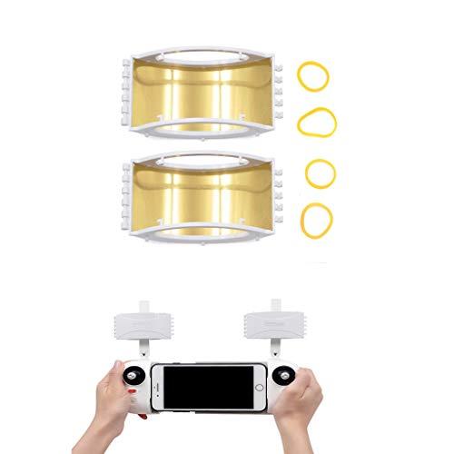 Luccase 2 Stücke Signal Extender Antennenverstärker Verstärker Antennen Range Booster Kompatibel mit Xiao MI X8SE Drone Smart Fernbedienung