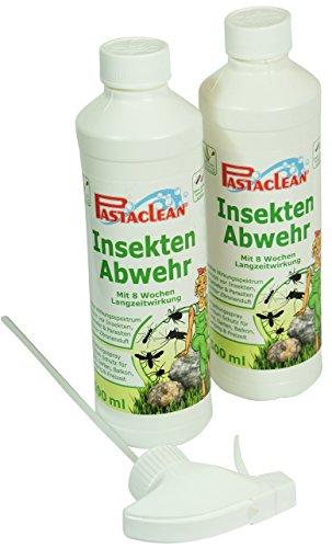 Pastaclean Insektenabwehr Insektenschutz 2 x 500ml