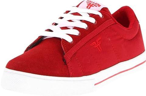 Fallen Kids Bomber-K, Baskets mode mixte enfant - Rouge (Red/White),