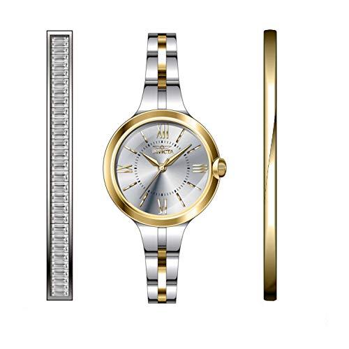 Invicta Angel Reloj de Mujer Cuarzo Correa y Caja de Acero dial Plata 29344
