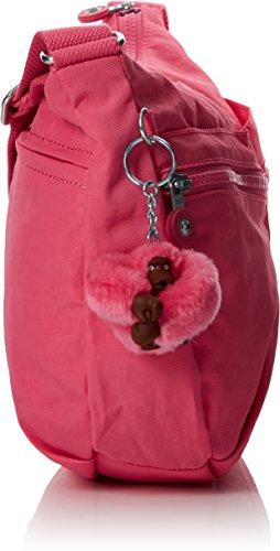 Damen Izellah Umhängetasche, Pink (City Pink), 33x23x12 cm Kipling