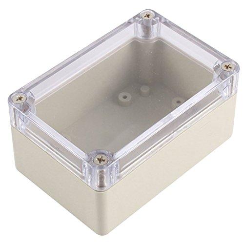 WOVELOT 1 pieza Caja de proyecto electronico de armario impermeable de plastico 100 x 68 x 50MM