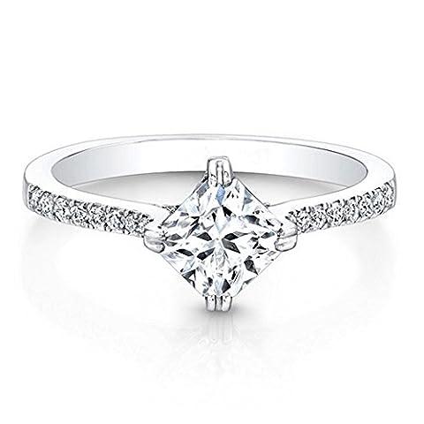 Forever Carat or jaune 585 or blanc 585/1000 (14 cts) Diamant
