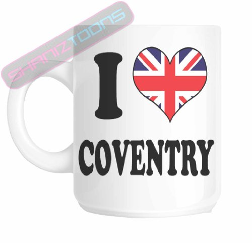 I love Coventry Geschenk Teddy Bär (Bar Coventry)