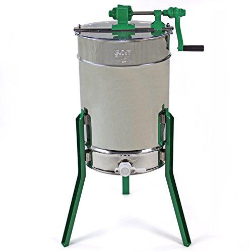 Easibee 6 frame Stainless Steel Radial Honey Extractor Test