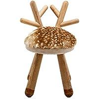 Preisvergleich für Cartoon Hocker Massivholz Baby Stuhl Zuhause