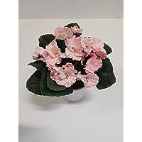 Usambaraveilchen Dekopflanze Kunstpflanze 23 cm lila N-31317-4 getopft F69