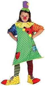Atosa- Clown Disfraz Payasa, 3 a 4 años (6741)