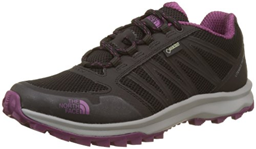 The North Face T92Y8VYYN. 7, Zapatillas Mujer, Multicolor (Tnf Black/Amaranth Purple), 40...