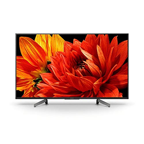 "Abbildung Sony KD-49XG8396 - Fernsehen 49"" 4K Ultra HD HDR LED mit Android TV (Motionflow XR 1000 Hz, 4K HDR Processor X1, Bildschirm TRILUMINOS, Wi-Fi), schwarz"