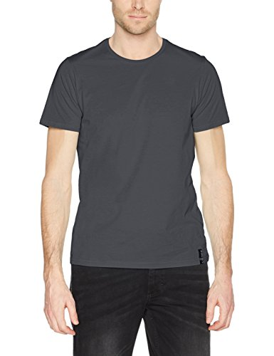 s.Oliver Herren T-Shirt Grau (Vulcano Grey 9581)