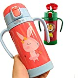 Hold Present Stainless Steel Hot and Cold Sipper Water Bottle for Kids. 300