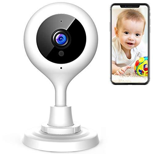 APEMAN WLAN Kamera 1080P Überwachungskameras Babyphone Fernüberwachung Nachtsicht Heimüberwachung Haustier Kamera Wireless mit iPhone/Android Allgemeine Gerät kompatibel