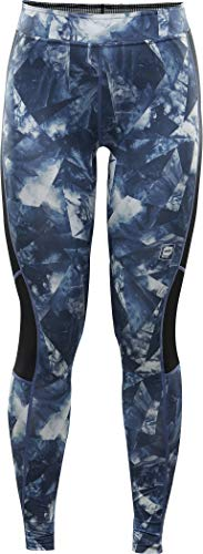 Orage Cozy Pant Base Layer Bottoms, Medium, Abstract Feather Print -