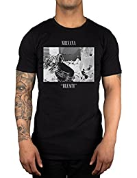 30150bdeea6 Amazon.co.uk  Nirvana - Tops   Tees   Band T-Shirts   Music Fan ...