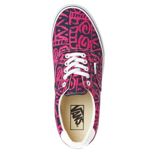 Chaussures Era 59 Vans - Bleu violet rose