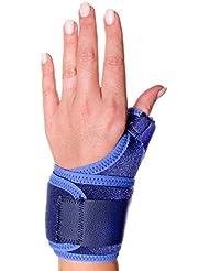 66fit Elite - Brazalete para sujeción de dedo pulgar