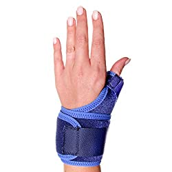 66fit Thumb Support Brace - Medical Sports Injury Sprain Pain Relief