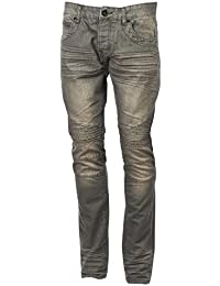 Rivaldi black - Caza denim jeans - Pantalon jeans