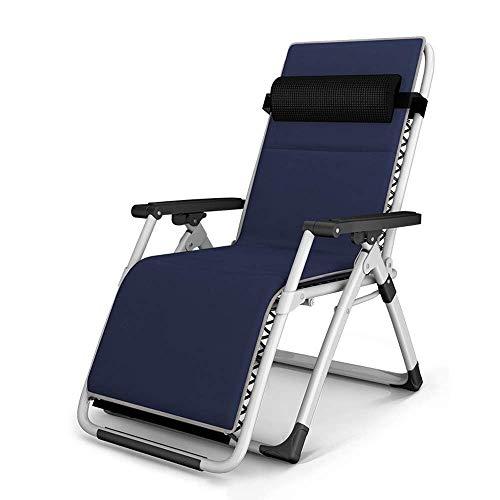 AI LI WEI Home Outdoor/Außenstuhl Klappstuhl Balkon Home Freizeit tragbarer Stuhl Vier Jahreszeiten Universal-Klappstuhl, Schwerelosigkeit Stuhl Leichte Camping-Stuhl (Color : Silver) -