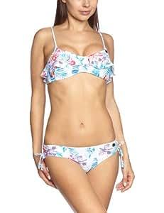 Roxy Multi Hawaiian Scooter Pt Tie Sides Bikini wht multi hawai Size:XS