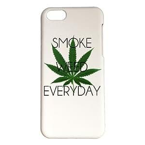 Coque de protection personnalisable en plastique - APPLE - IPHONE 5C - SMOKE WEED EVERYDAY - Couleur : Blanche