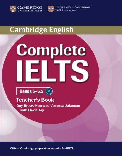 Complete IELTS Bands 5-6.5 Teacher's Book by Guy Brook-Hart (2012-02-27)