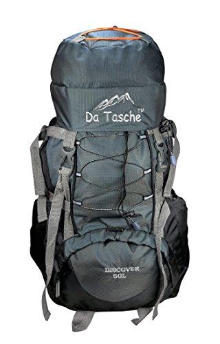 Da Tasche Discover 50L Black Rucksack