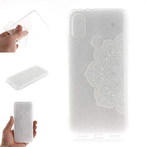 Funda 3D Sollievo Disegno Custodia per Xiaomi Redmi Note 5 Pro (Disegno 4)