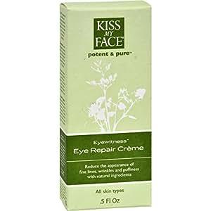 Kiss My Face 0800136 Eye Repair Creme Eyewitness - 0,5 onces liquides