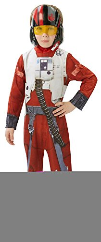 Star Wars 7 Kinder Kostüm Poe X-Wing Fighter Classic Karneval 7-8 J.