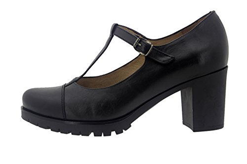 Scarpe donna comfort pelle Piesanto 7353 casual comfort larghezza speciale