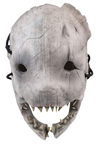 Gaya Entertainment Dead by Daylight Replica 1/1 Trapper Mask Costumi Scherzi (Erwachsene Jockey Kostüm)