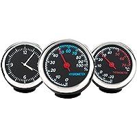 winomo Auto electrónicos reloj mecánico vivos Reloj stahlkern manecillas (Reloj y higrómetro y termómetro)
