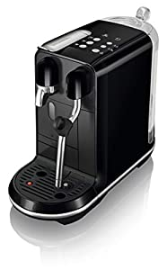Nespresso by Sage SNE500BKS The Creatista Uno, Black Sesame