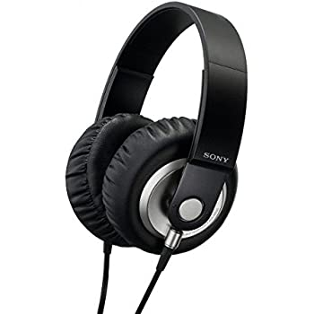 Sony MDR-XB300 Extra Bass On-Ear Stereo Headband Headphones - Black