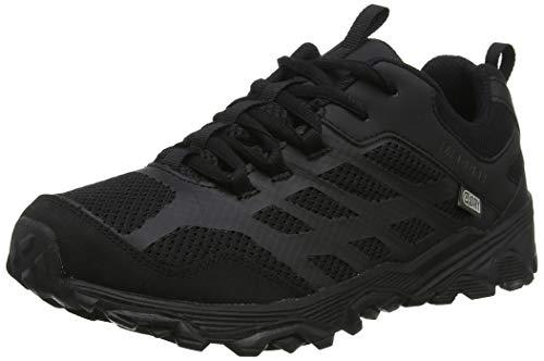 Merrell Unisex-Kinder M-Moab FST Low Waterproof Trekking- & Wanderhalbschuhe, Schwarz Black, 35 EU - Merrell Junge Schuhe