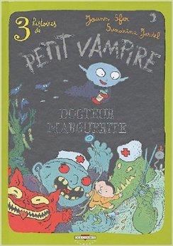 3 histoires de Petit Vampire, Roman, tome 2 : Docteur Marguerite de Joann Sfar (Dessins, Scenario),Sandrina Jardel (Scenario) ( 27 octobre 2004 )