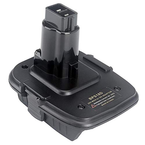 Miss-an Batterie Konverter Adapter für Dewalt 18V-20V Konverter mit USB Power Bank Funktion Kompatibel mit der Dewalt DCB200 DCB203 DCB203 DCB203 DCB203 DCB205 DCB205 DCB206 Batterie - 20 Volt Usb Dewalt