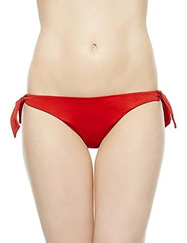 EONAR Femme Cravate latérale Tong Maillots de bain Brésilien Bas