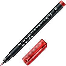 Staedtler 733511 - Rotulador permanente con punta fina, color rojo