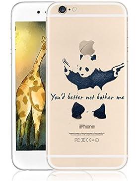 Vanki® Fundas iPhone 6/6S,Suave TPU Funda Parachoques Funda Absorción de Impactos y Anti-Arañazos Case Cover Carcasa...