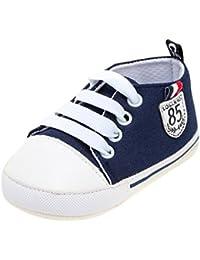 OdeJoy Baby Mädchen Jungen Brief Drucken Schuhe Solide Weich Sohle Einzig Alleinig Beiläufig Schuhe Digital Gedruckte Babyschuhe Kleinkindschuhe Halloween Karikaturschuhe