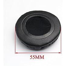 shinecozy Premium piel de proteína de almohadillas de auriculares almohadillas de espuma almohadillas, Auriculares almohadillas de repuesto piezas de repuesto