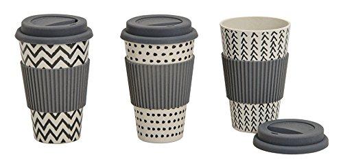 Coffee to go Becher aus Bambus, Höhe va. 13 cm