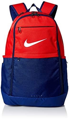 Nike Brasilia Rucksack, University red/Blue Void/White, MISC