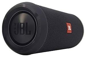 JBL Flip 3 Spritzwasserfester Tragbarer Bluetooth-Lautsprecher mit außerordentlich Kraftvollem Klang - Sonderausgabe - Schwarz