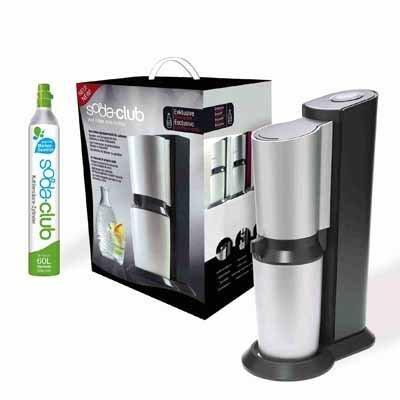 Produktbild SodaStream Crystal - Wassersprudler - 0.6 Liter - Titanium / Silver